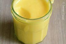 Crème pour crêpes au citron