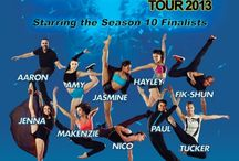 SYTYCD Live Tour 2013 / Bloch is a proud sponsor of So You Think You Can Dance Love Tour 2013. Details: http://www.blochworld.com/bloch-history/sytycd-dance-tour