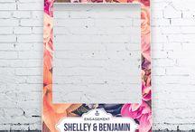 Selfie frames/ Photobooth