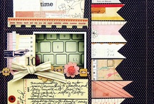 Scrapbooking layouts I like / Layouts I want to lift one day.