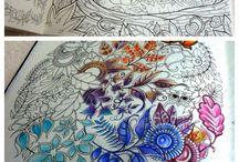 Inspiração para colorir