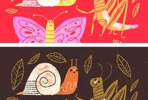 Lessen Beeldend insecten / Doe hier ideeën op om thuis of op school aan de slag te gaan! Mevrouw Merel inspireert graag kinderen, ouders en leerkrachten.
