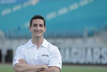 Physician spotlight: Dr. Kaplan / Dr. Kevin Kaplan is the head team physician of the Jacksonville Jaguars and travels with the team during away games.