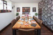 Business Meetings with us / Join us for informal or formal business meetings in our NEW Cavendish Room - enjoy table service free Wi-Fi & parking. Seats up to 8 with a flat screen TV for you to hook up your desktop.