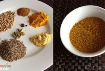 Seasonings, spices and Sauces