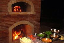 Outdoor Fireplace/Pizza Oven