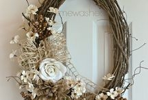 Floristrym / Flowers, wreaths