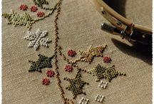 Cross stitching