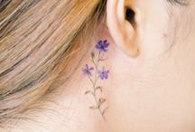Forget me not tattoo