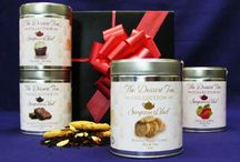 Dessert Tea Tin Gift Boxes / Some of our best dessert teas in collectible tins. http://www.svtea.com/