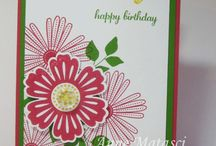 Stampin Up -  Mixed Bunch / by Whitney Ulsas