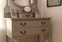 Upcycled dressing table