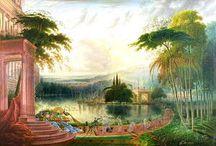 Harbors + Port Paintings / Harbors + Port Paintings