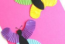 SPRING CRAFTS & ACTIVITIES FOR KIDS / Spring DIY, Crafts, and Activities for kids