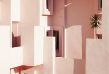 Form follows function. / Inspirational and classic architectural spaces. Objects.