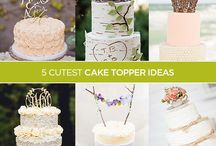 Wedding Cake Toppers / Ideas and Inspirations for Cake Toppers