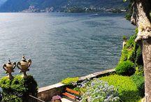 Piękne widoki / Piękny dom nad jeziorem como