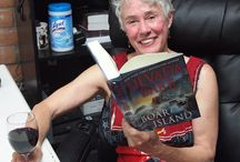 Nevada Barr / Nevada Barr was here to visit with us and sign her latest, Boar Island!