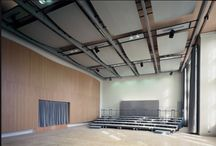 MUSIK HALLE-HUMBOLT UNIVERSITY BERLIN / One of my first completed projects working with Walter Abelmann and Renate Vilain