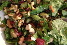 Salads / Colorful salads available year-round at our eateries.