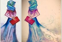 Hijab Fashion illustr