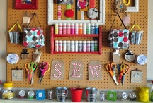 KOOL Craft Rooms / If you're gonna #craft, why not have a really cool #craftroom.  These are some of our favorites.