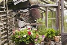 une pièce au fond du jardin
