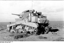 Light Tank Stuart - Africa