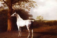 Horses / Animal themed paintings and photos from famous masters. #art, #canvas, #design, #painting, #print, #poster, #decoration
