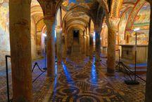 Anagni / Avete visitato la Cripta della Cattedrale di Anagni? Una meraviglia quasi sconosciuta a due passi da Roma http://blog.zingarate.com/mondovagando/anagni-fiuggi/