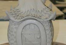 bird house / nichoir ceramique / garden