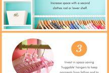 Creative organising and tips