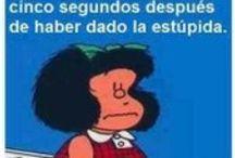 Mafaldeces / Frases de nuestra amiga Mafalda que invitan a la reflexión