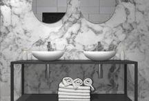 Bagno Minimalista di design