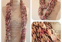 Knitting - SKINNY SCARVES