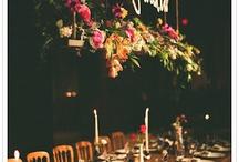 Hanging Table Decor Wedding