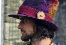 шапки, шляпки - войлок