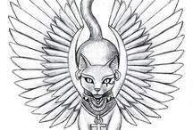 |tattoo| Bastet