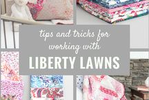 All things Liberty fabric