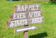 Fun wedding signs / by Ashlee Arndt