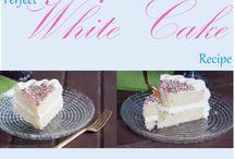 Vanilla-White cakes