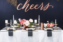 """""""Fireworks & Sparklers"""" New Years Eve Party & Wedding Inspiration"""