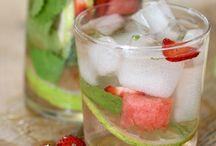 acque aromatizzate drinks cocktails e dintorni