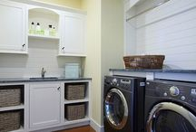 Home Decor - Laundry Room Ideas / Laundry Day Will Be a Breeze In These Laundry Rooms! http://www.ClearVisionRealty.com