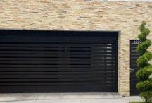 puertas garaje y fachadas