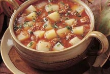 food soup / by daniele bonneau