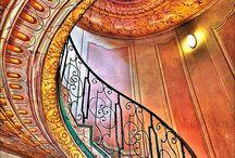 Amazing, beautiful stairways / Stairs