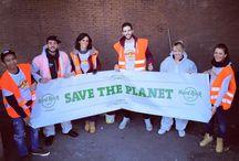 Save The Planet / Quello che ci differenzia e' il Rock ma la Filantropia e' la nostra anima!