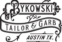 Bourbon Ball Style / Austin's first full service local haberdashery, Bykowski Tailor & Garb is thirsty to style the Bourbon Ball beaus with locally designed and handrafted garb inspired by the prohibition era for today's gent.