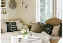 Living | inspiration / gezellige en leuke woondecoretie's voor in en om het huis!